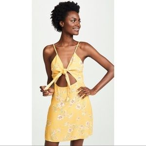 NWT $168 Flynn Skye Floral Mini Cutout Dress